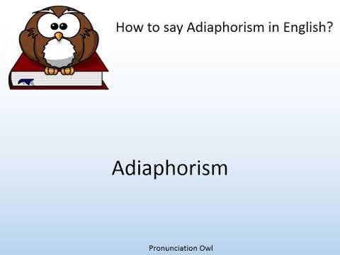 adiaphorism