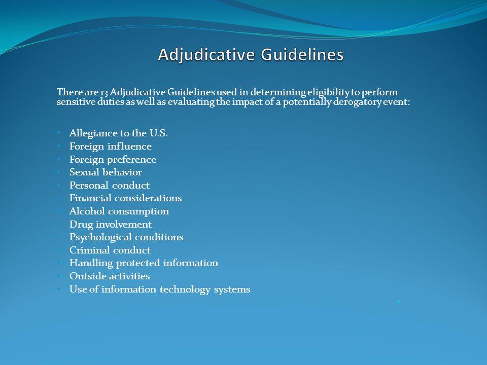 adjudicative