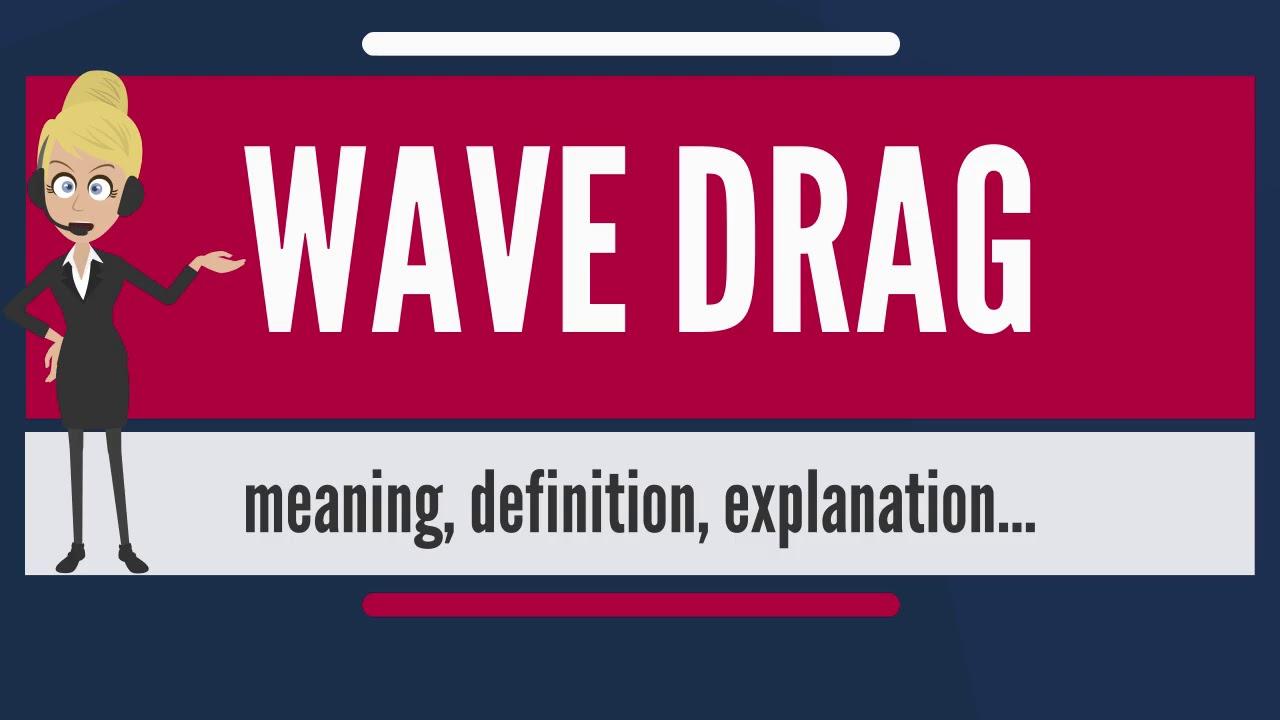 aerodynamic wave drag