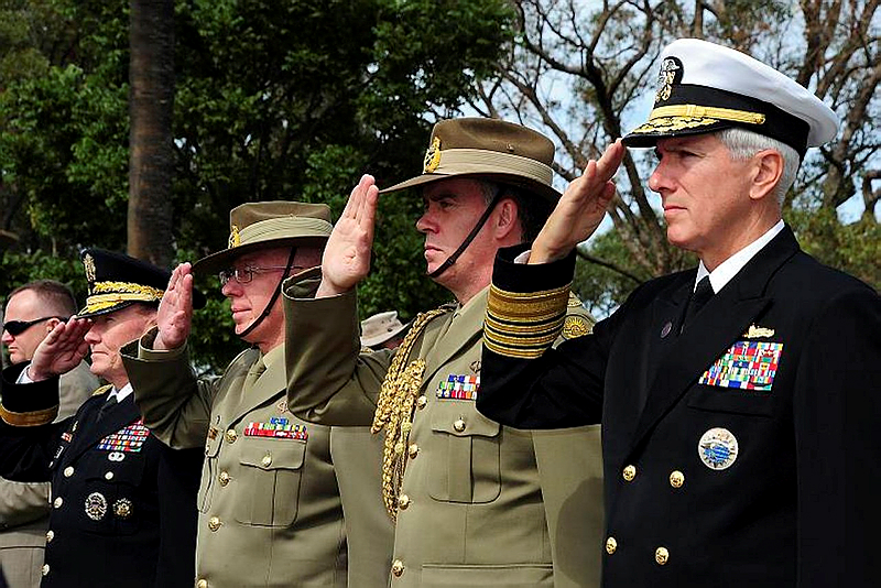 Australian salute