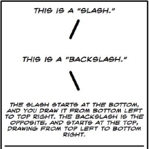 backslash - Liberal Dictionary