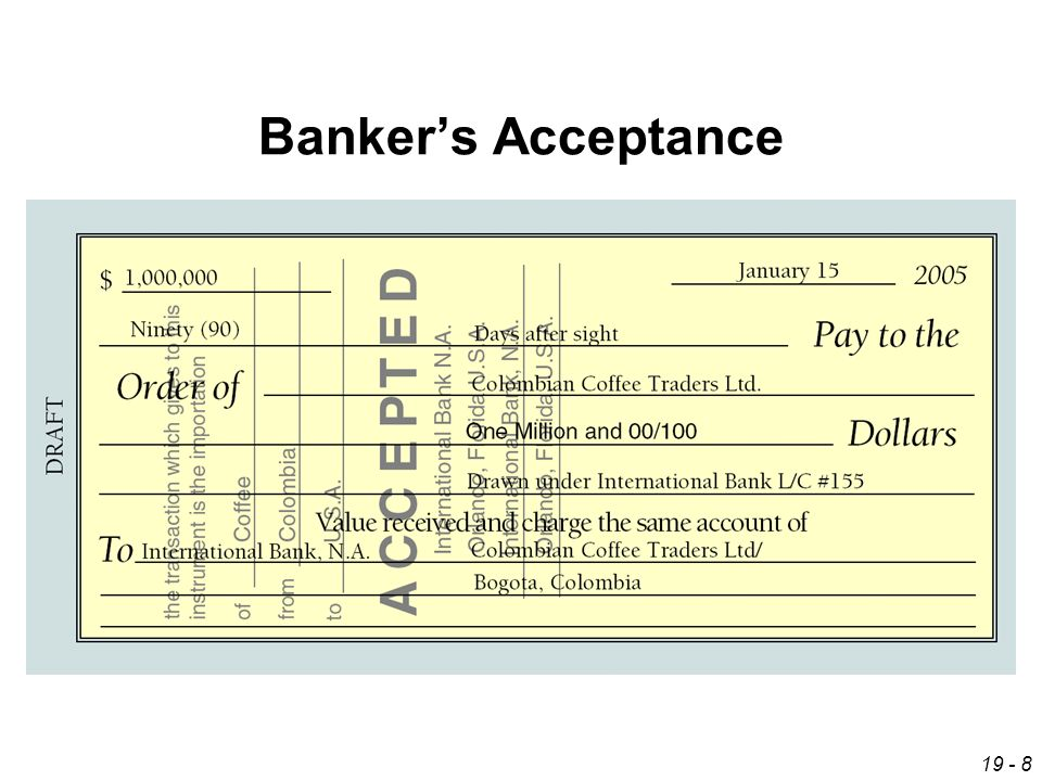 bank acceptance