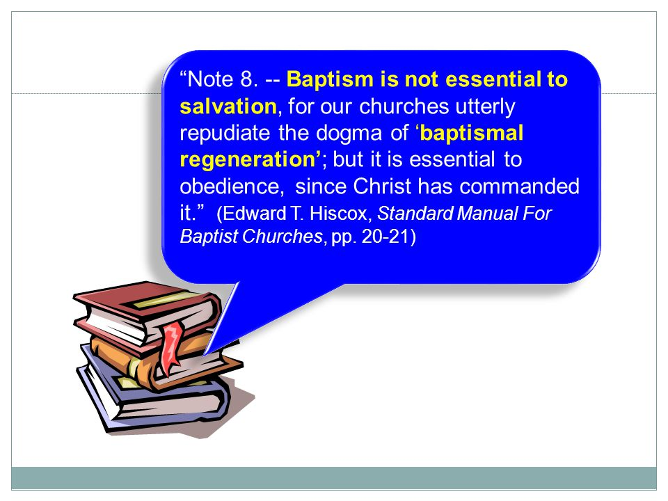 baptismal regeneration