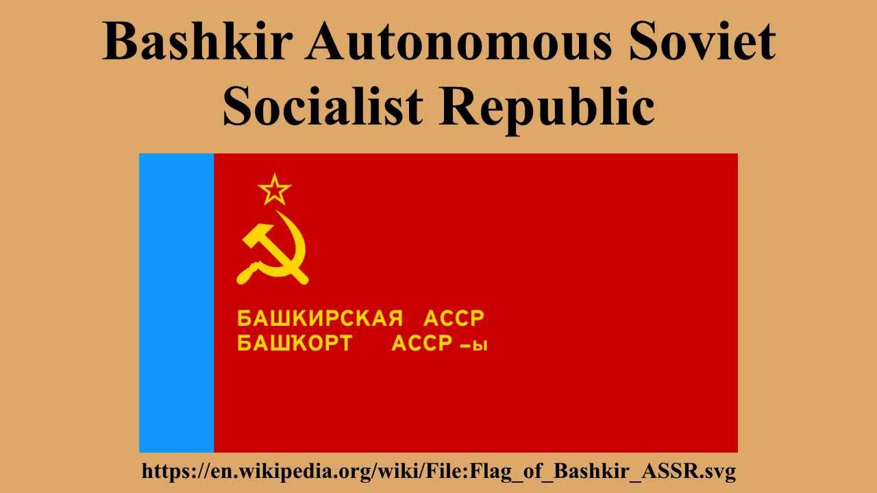 bashkir autonomous republic