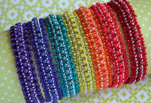 Free patterns for National Beading Week