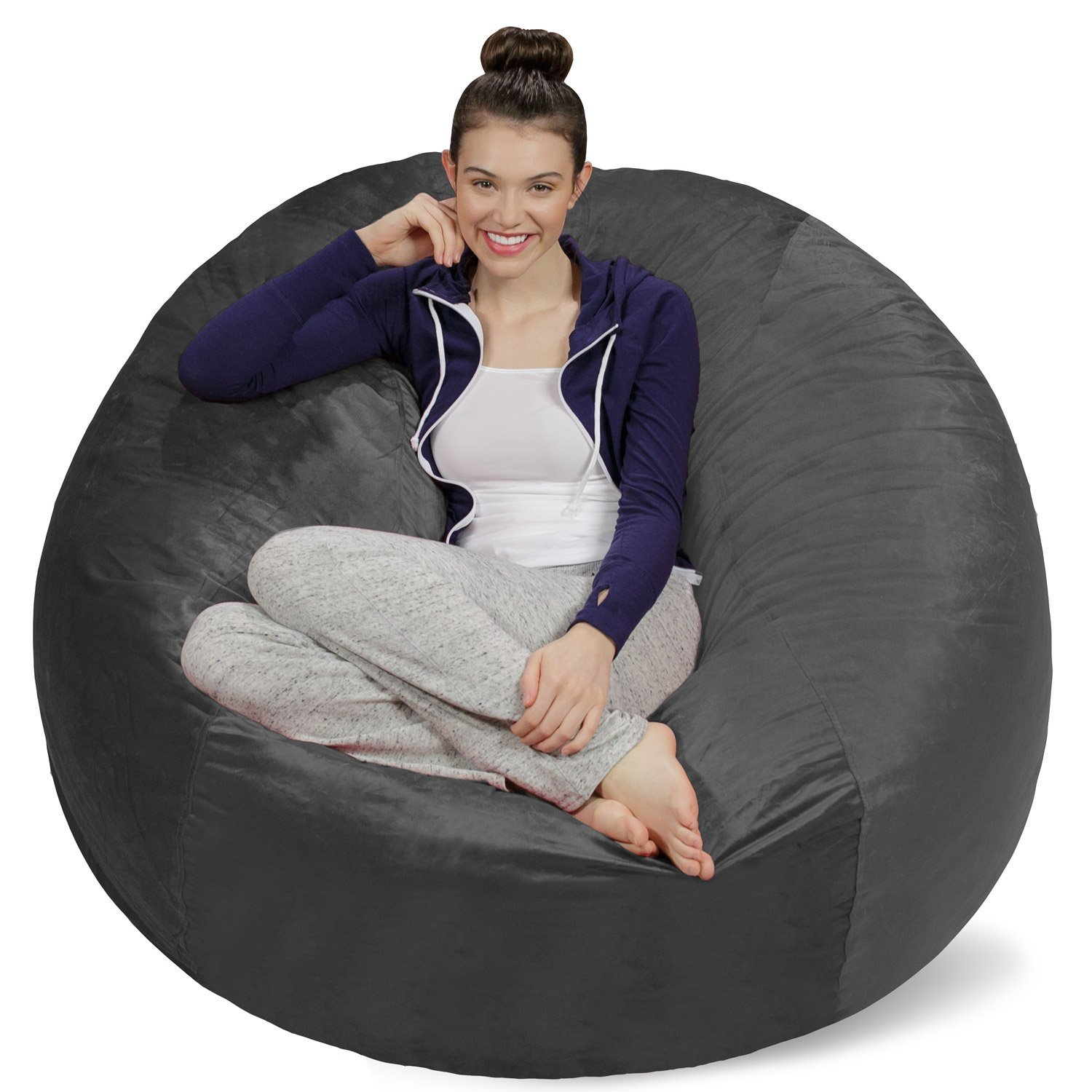 Traveller Location: Sofa Sack - Plush Ultra Soft Bean Bags Chairs For Kids, Teens,  Adults - Memory Foam Beanless Bag Chair with Microsuede Cover - Foam Filled