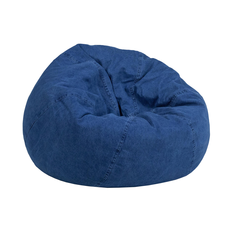 Brilliant Pillowfort Cocoon Bean Bag Chair With Pocket Machost Co Dining Chair Design Ideas Machostcouk