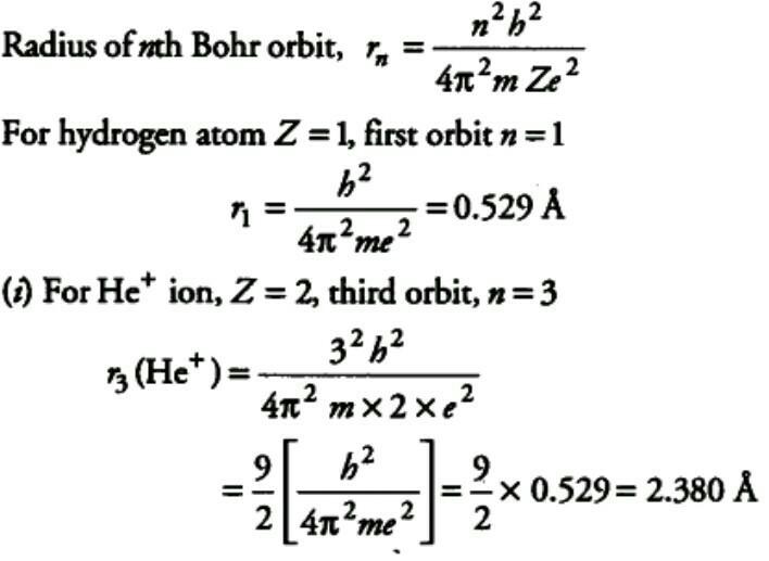 Bohr radius