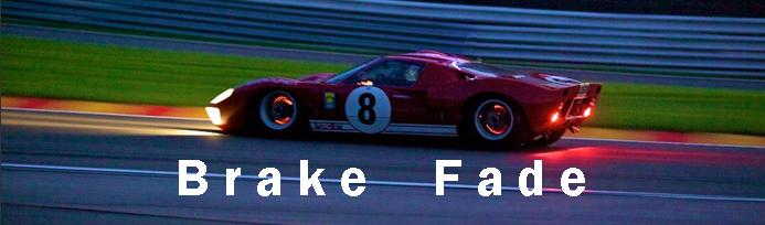 brake fade
