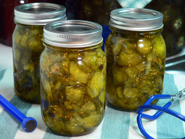 bread-and-butter pickle