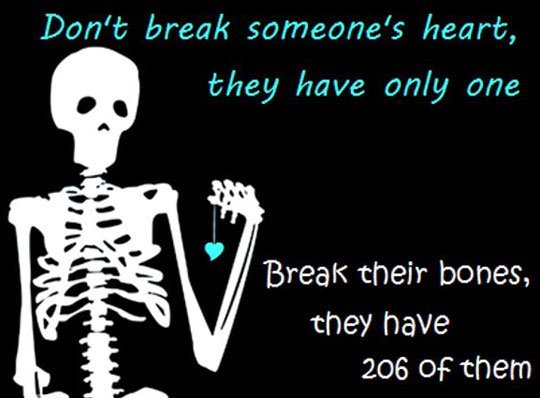 break someone