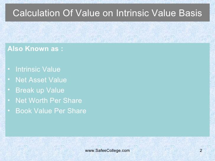 break-up value