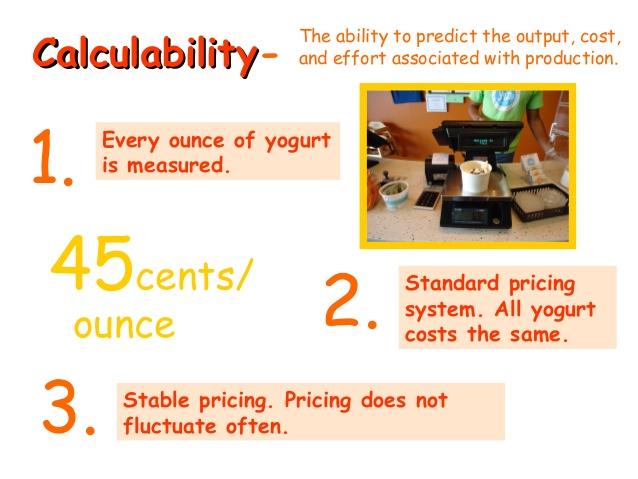 calculability