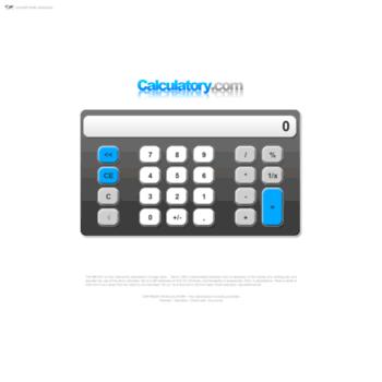 calculatory