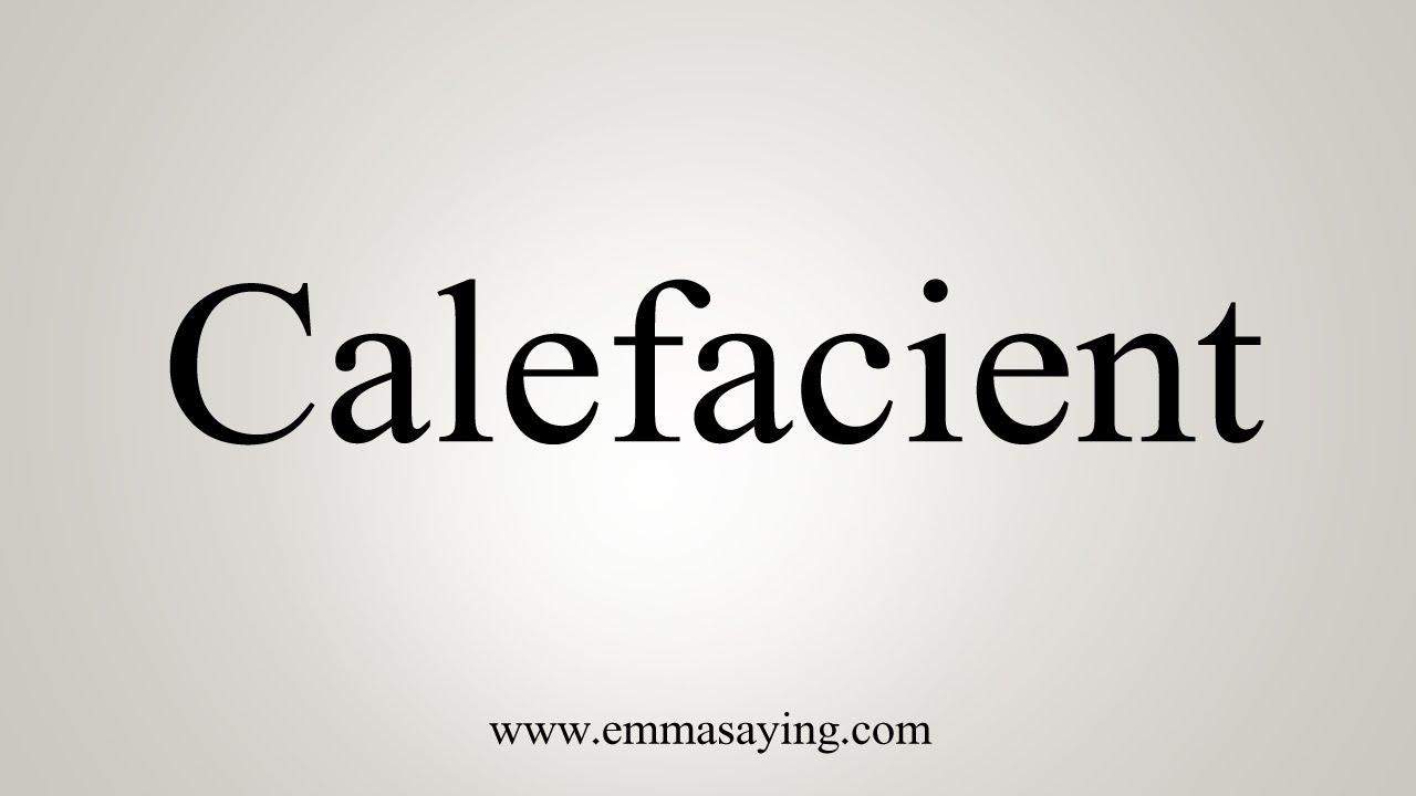 calefacient