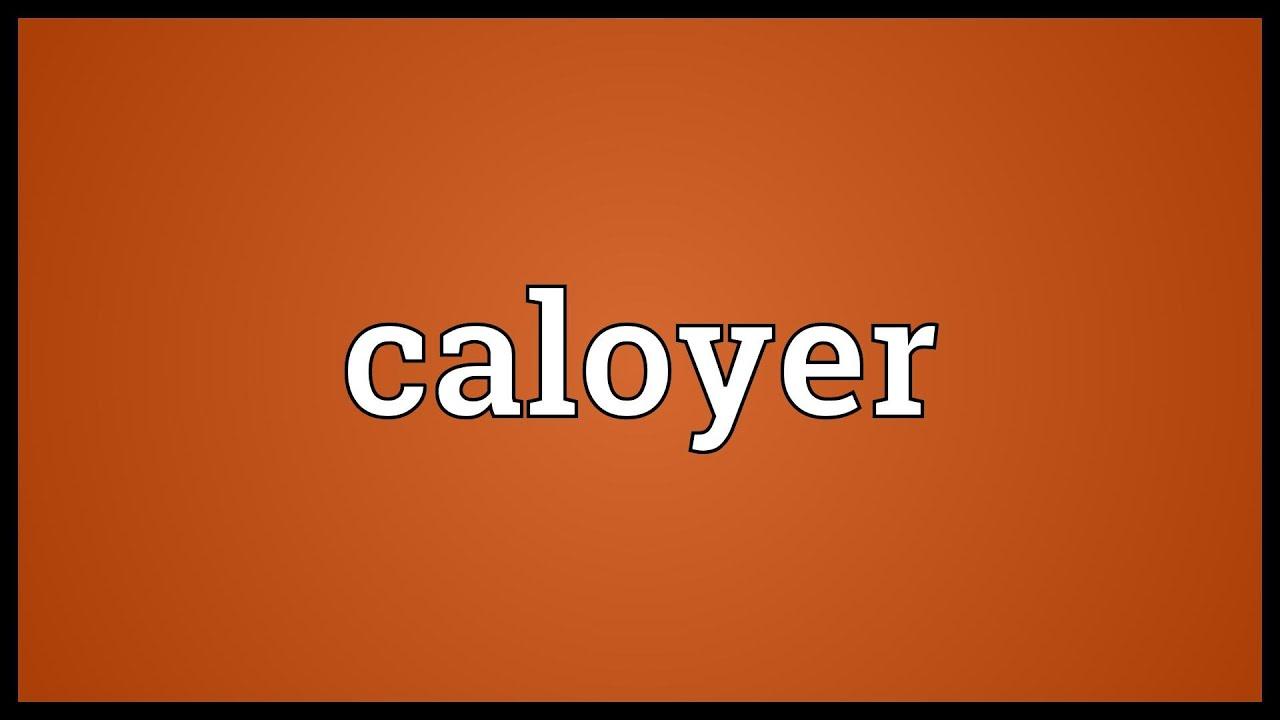 caloyer
