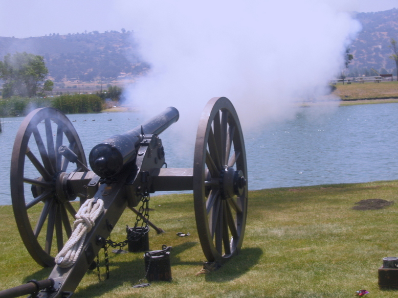 cannon-shot