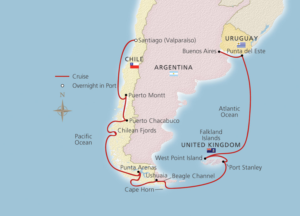 Cape Horn On South America Map.Cape Horn Liberal Dictionary