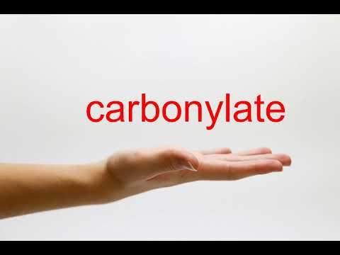 carbonylate