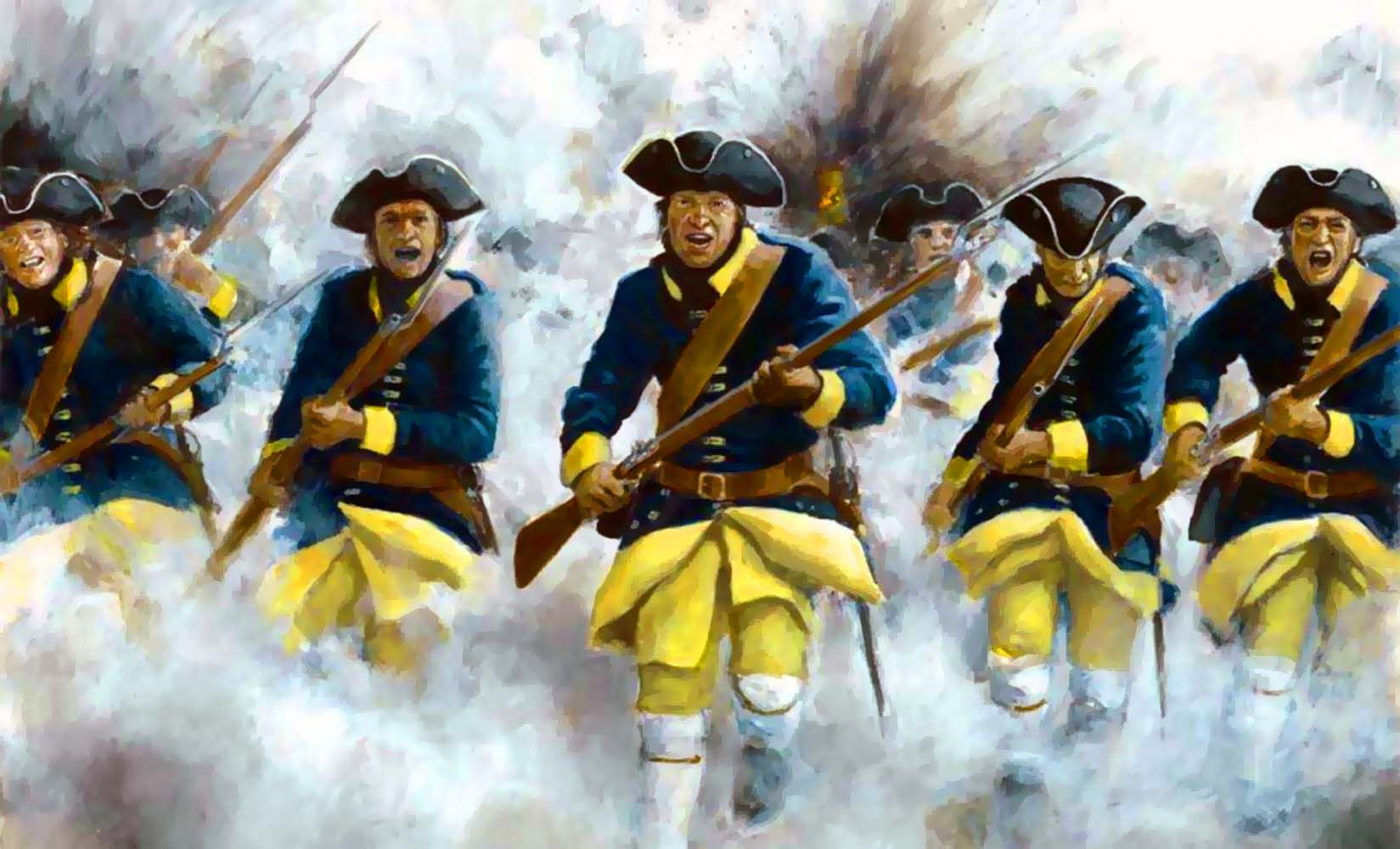 Charge of the Swedish Carolean infantry, Great Northern War