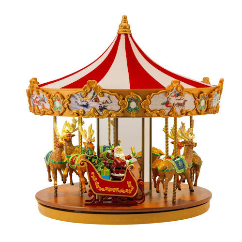 Mr Christmas Very Merry Musical Carousel