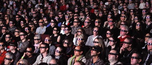 cinema goers'
