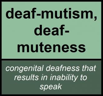 deafmutism