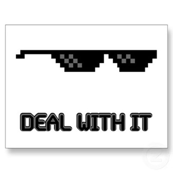 deal with