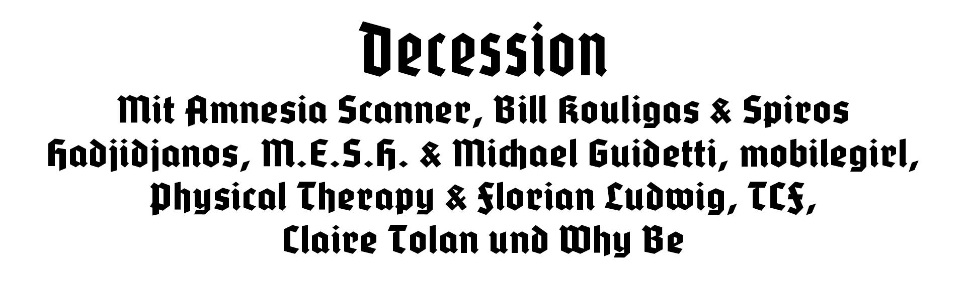 decession