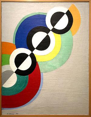 Robert Delaunay, Rythmes, 1934.jpg