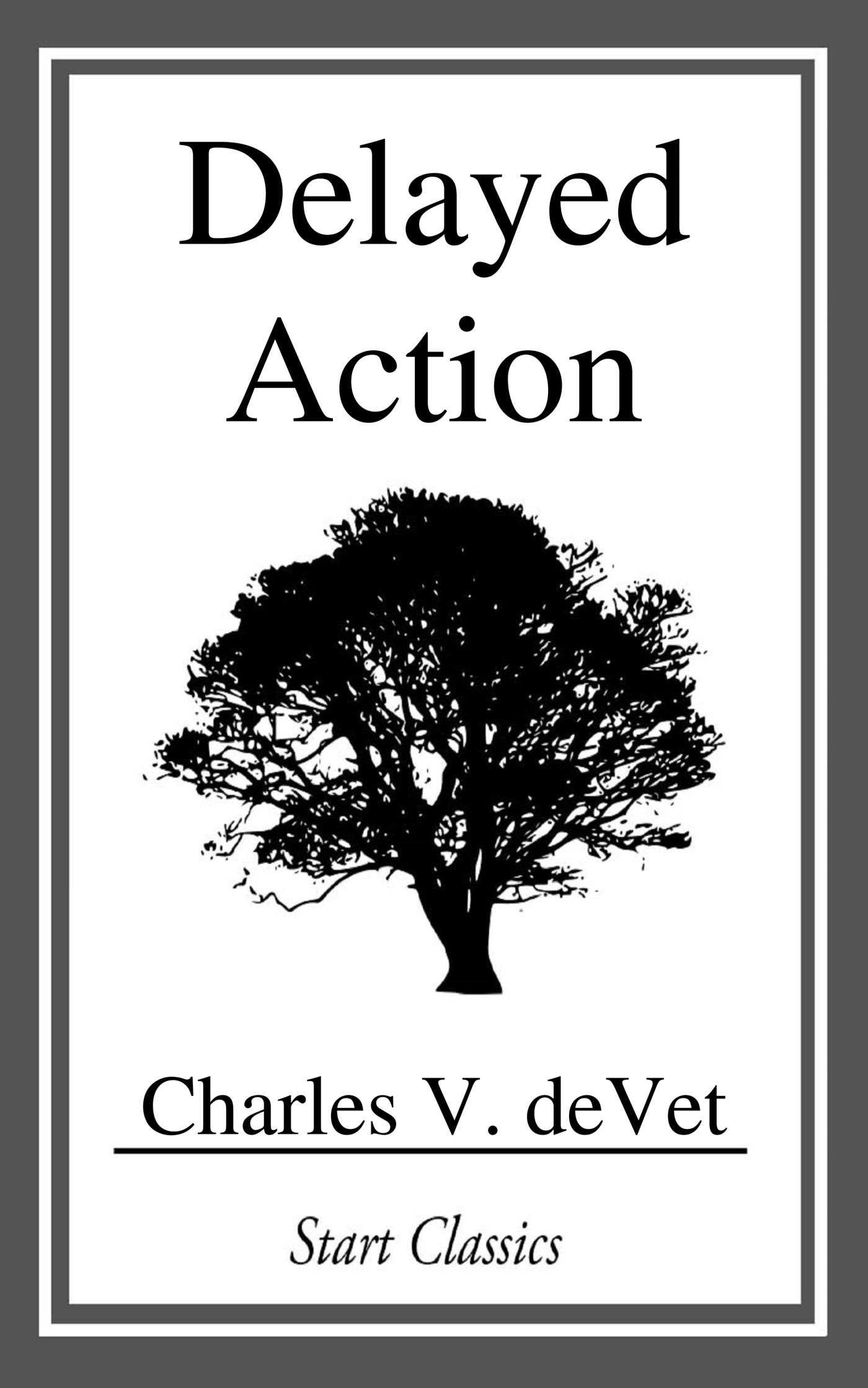 Book Cover Image (jpg): Delayed Action