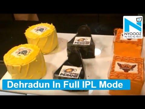 IPL Fever: Pastries Delectated To IPL Teams In Dehradun