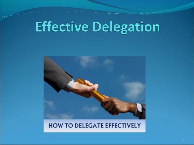 deligation