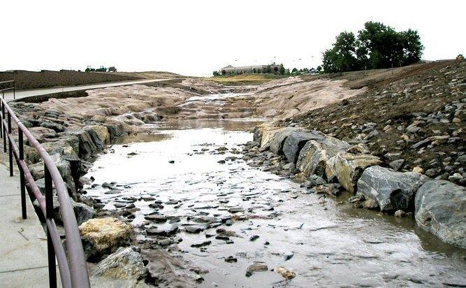 drainageway