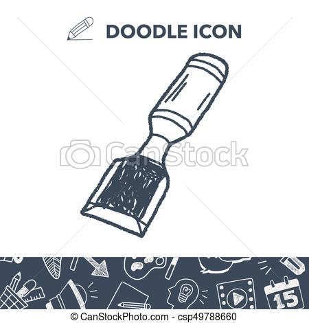 drawing chisel