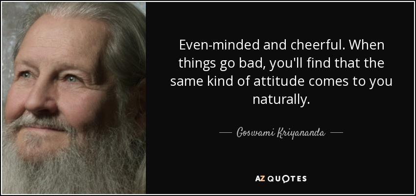 even-minded
