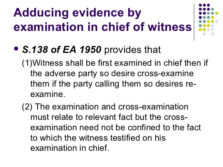 examine-in-chief