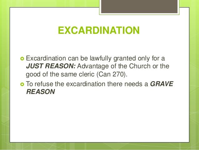 excardination