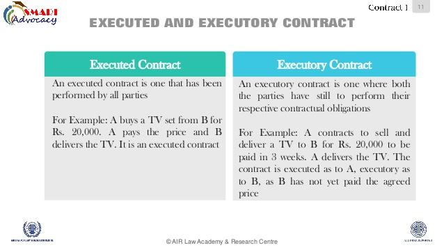 executory