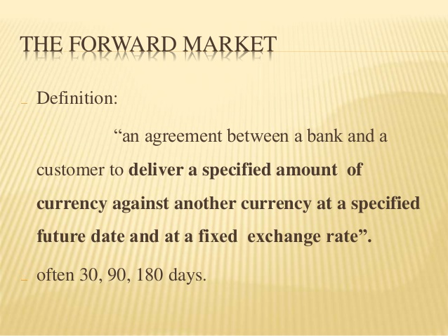 forward market