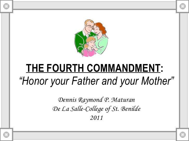 Fourth Commandment