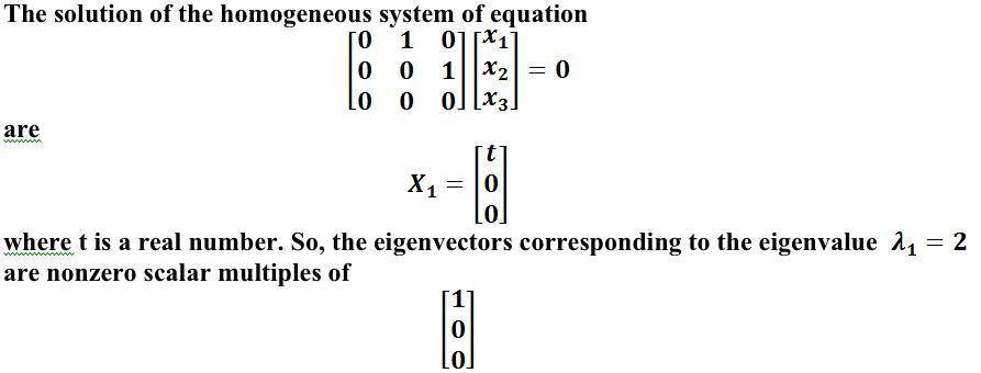 homogeneous system