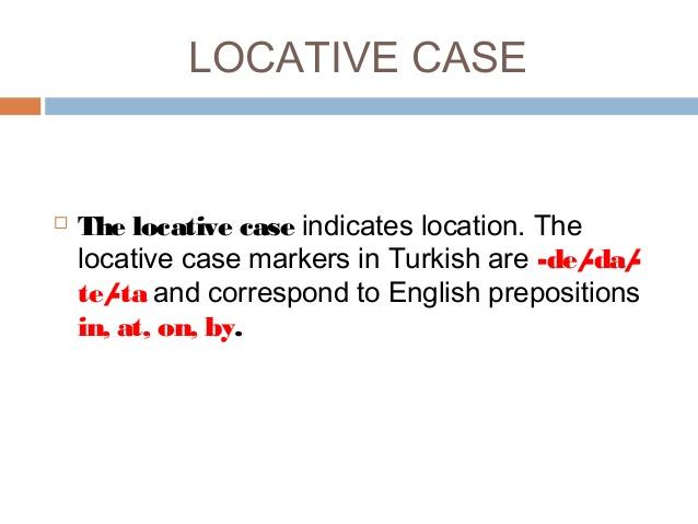 locative