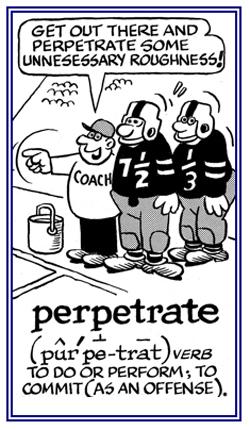 perpetrate