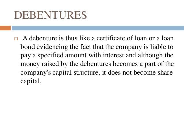 perpetual debenture