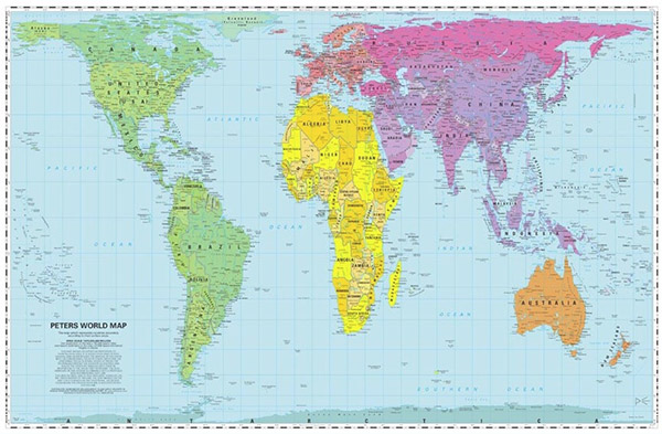 peters' projection