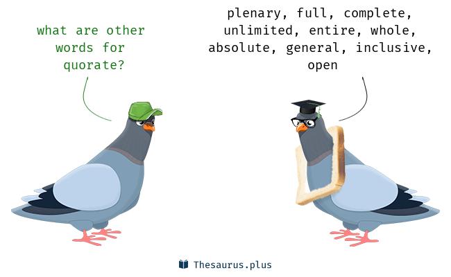 quorate