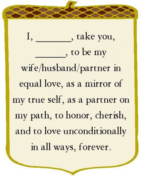 Simple Wedding Vows.Simple Vow Liberal Dictionary
