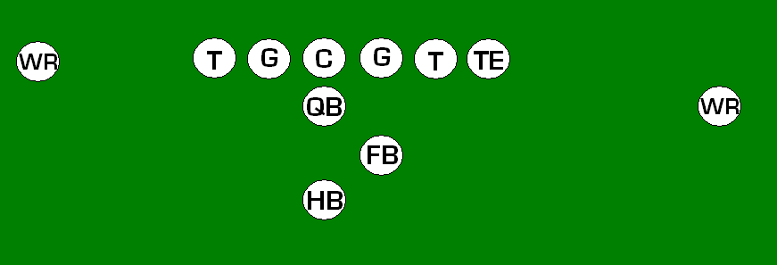 single wingback formation