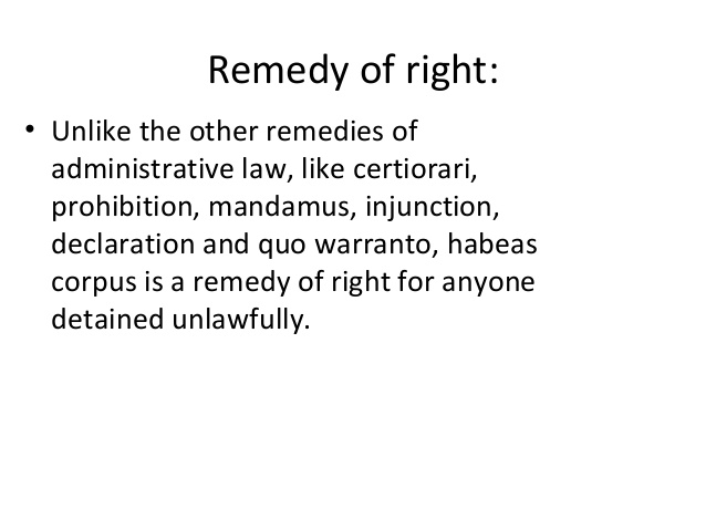 writ of right